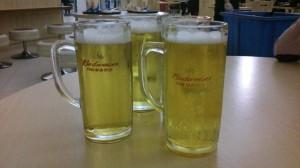 やっぱビールだよね♪