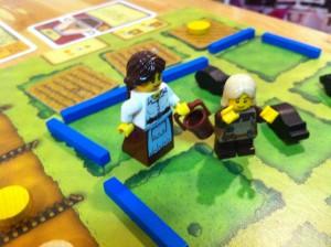 アグリコラ:ちょっと重めの農業ゲームです。ピザに使われる小麦を作るのに人がどれだけ苦労するかを学べます。