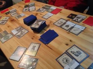 勿論テーブルゲームもしました。次回28日の為に三国殺を猛練習です。