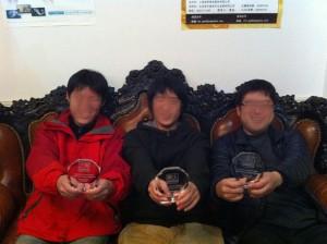 見事優勝したのは、やはりテーロス仮面こと、グリズリィ氏率いるチームでした。
