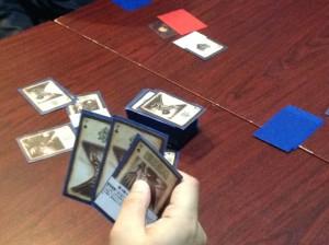 三国殺:新しく来られた方に先ずは正体隠匿系ゲームの最高峰を楽しんで頂きました。