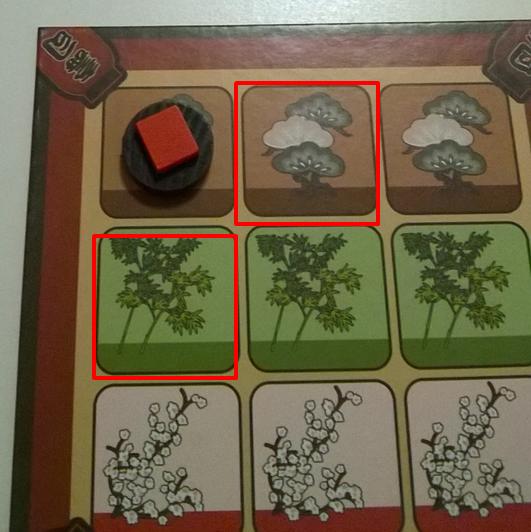 寿司の置き方