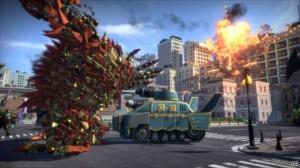 そのうち、こんな戦車も持ち上げてぶん投げれるようになります。快感!