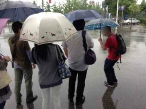 しかし!!無情にも雨は降り続けるのです…