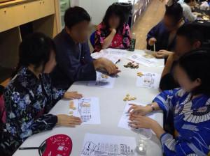ごいた:来週上海ゲーム部内で行われるごいたGPの予行練習を兼ねた学習会です。