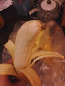 生きのいいバナナやで…