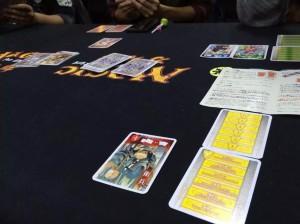 王宮のささやき:宮廷での陰謀劇をテーマにしたカードゲームです。