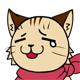 猫表情 涙