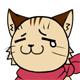 猫表情 涙2