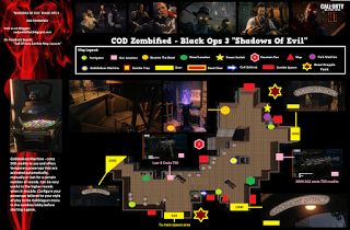 Shadows Of Evil Zombies Call Of Duty Black Ops 3 Junction Area Layout