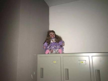 ところで、このお人形さんに関して、名女優キャサリンちゃんは新入部員として入部致しましたので、これからも優しくしてあげてくださいねっ!!