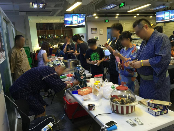 上海ゲーム部夏祭り: