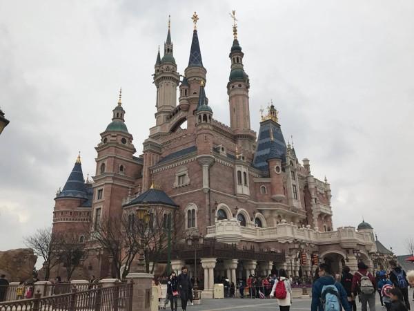 上海ディズニーランド: