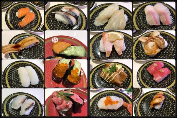 様々な寿司